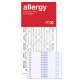 12x24x1 AIRx ALLERGY Air Filter - MERV 11