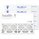 16x25x4 AIRx HEALTH Air Filter - MERV 13
