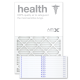 20x30x1 AIRx HEALTH Air Filter - MERV 13