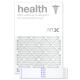 20x30x1 AIRx HEALTH Air Filter - MERV 13