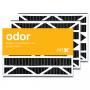 16x25x3 AIRx ODOR Air Bear 255649-101 Replacement Air Filter - Carbon