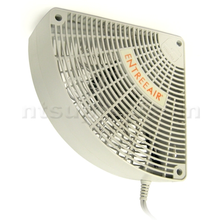suncourt entreeair door frame fan rr100 white - Door Frame Fan