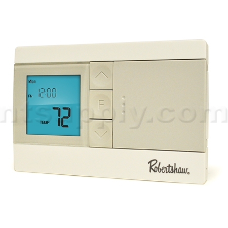 buy robertshaw rs2110 digital non programmable thermostat 1 heat   1 cool robertshaw rs2110 white rodgers thermostat owners manual white rodgers thermostat instruction manual