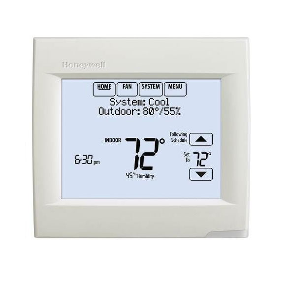 Honeywell Rth9580wf Wi Fi Smart Thermostat Wiring Diagrams likewise Honeywell Thermostat Wiring Diagram Rth2510 further T6 Pro Programmable Thermostat together with Honeywell Visionpro Th8000 Manual besides 5 2 Day Programmable Thermostat Rth6350d. on honeywell 8000 thermostat installation manual