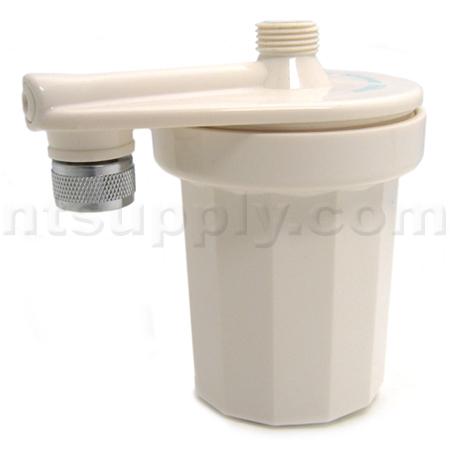buy paragon in line backflow shower filter white. Black Bedroom Furniture Sets. Home Design Ideas