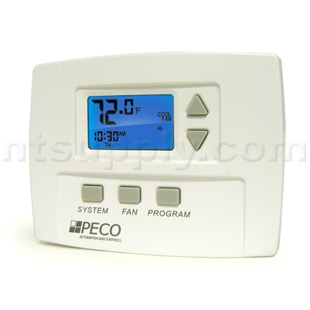 buy peco programmable fan coil thermostat ta180 001 peco ta180 001