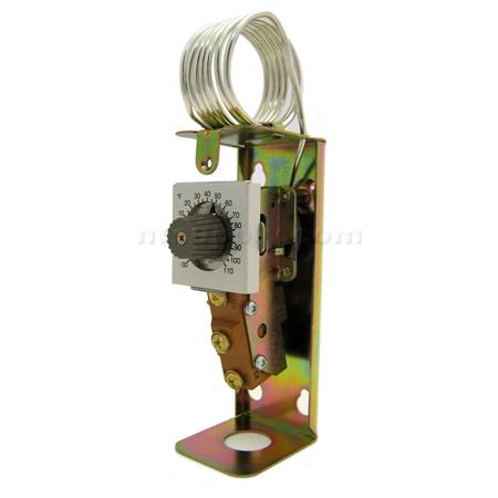 Honeywell Attic Fan Thermostat T6054a1005 Ebay