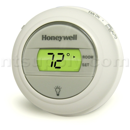 buy honeywell digital round non programmable 1 heat 1 cool. Black Bedroom Furniture Sets. Home Design Ideas