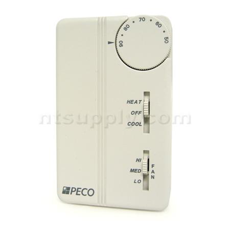 buy peco fan coil thermostat ta155 046 peco ta155 046