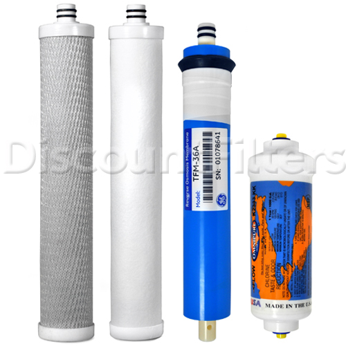 buy filter set with membrane for culligan ac 30 reverse osmosis system exact match tstcfswm 2. Black Bedroom Furniture Sets. Home Design Ideas