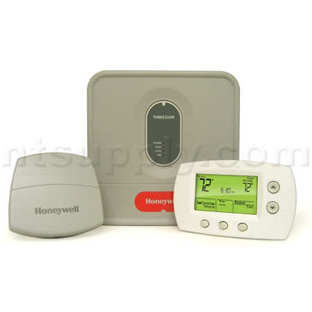 Relocate thermostat wireless