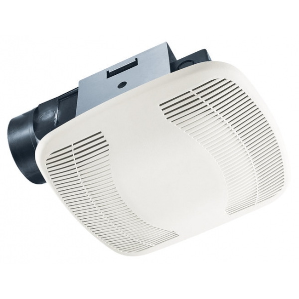 Buy air king bfq90 easy install bath fan 90 cfm air king bfq90 for Installation of bathroom exhaust fan
