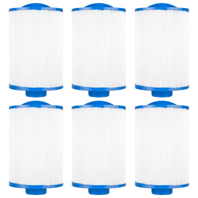 Clear Choice Pool Spa Filter Cartridge for Vita Spa, Saratoga Spa, 6Pk