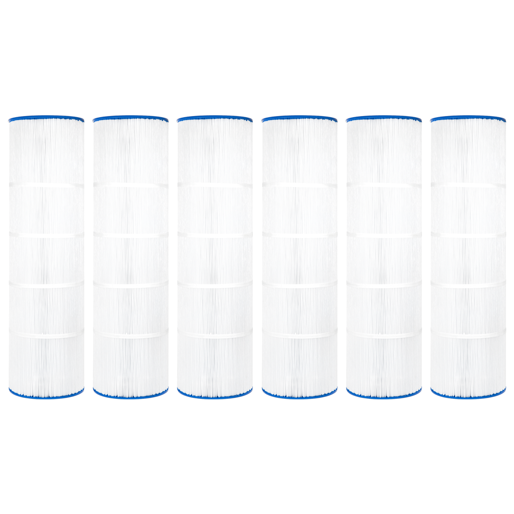 Clear Choice Pool Spa Filter Cartridge for Sta-Rite WC108-58S2X, 6Pk