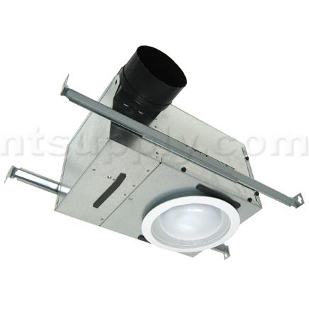 Broan Model 744 Recessed Light With Fan